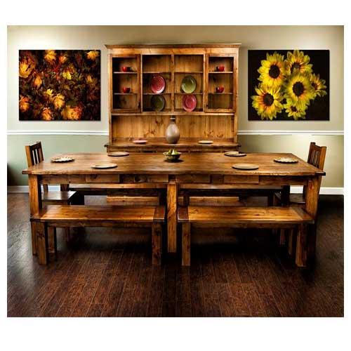 Family Sized Custom Farm Table