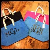 Monogrammed-Burlap-Bags