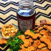 Peanut-Butter-Honey-Dog-Treats