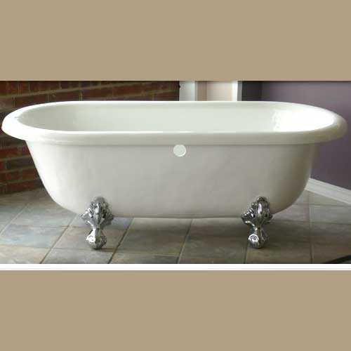 bathware products marquis victorian acrylic clawfoot bathtub